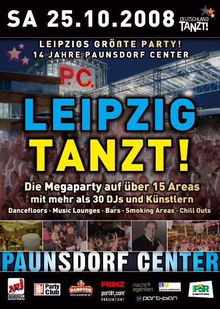 event leipzig tanzt am 2008 10 25 paunsdorf center leipzig partybilder24. Black Bedroom Furniture Sets. Home Design Ideas