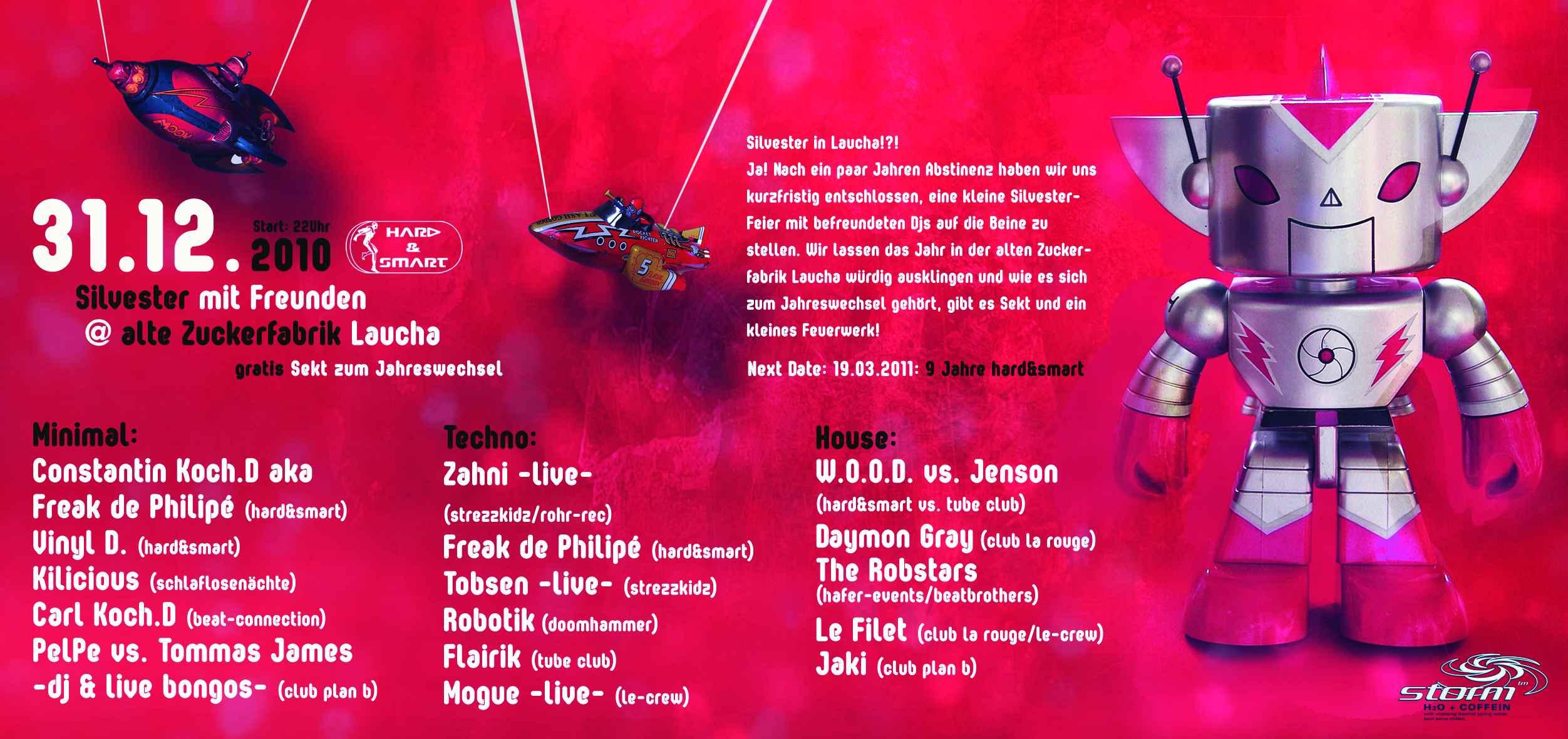 event silvester mit freunden am 2010 12 31 zuckerfabrik laucha partybilder24. Black Bedroom Furniture Sets. Home Design Ideas