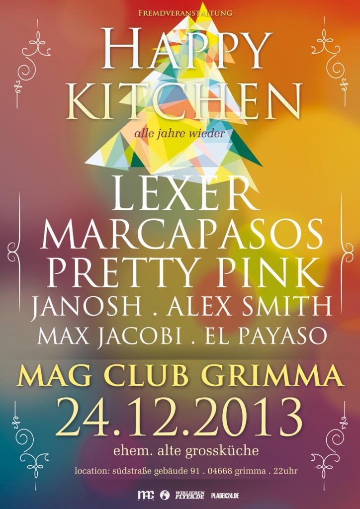 Event: Happy Kitchen mit Lexer, Marcapasos, Janosh, Pretty ...