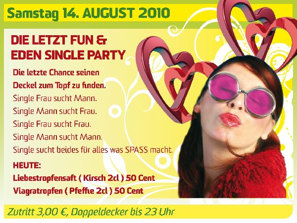 Single party eden arnsberg