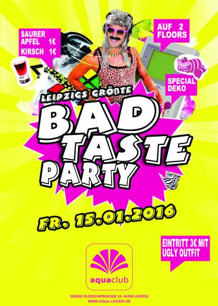 Event leipzigs gr te bad taste party am 2016 01 15 aqua for Ideen bad taste party outfit